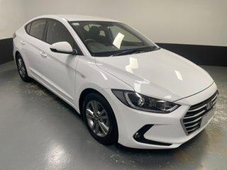 2016 Hyundai Elantra AD MY17 Active White 6 Speed Sports Automatic Sedan.