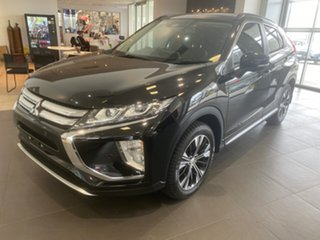 2018 Mitsubishi Eclipse Cross YA MY19 Exceed AWD Black 8 Speed Constant Variable Wagon