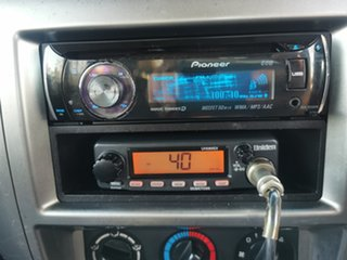 2007 Nissan Patrol GU 5 MY07 DX White 5 Speed Manual Wagon