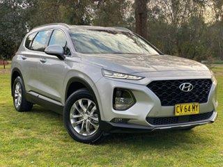 2019 Hyundai Santa Fe TM.2 MY20 Active Silver 8 Speed Sports Automatic Wagon.