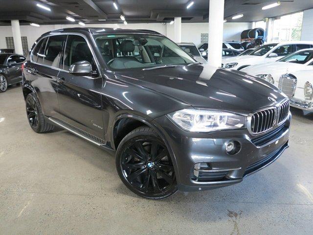 Used BMW X5 F15 xDrive30d Albion, 2014 BMW X5 F15 xDrive30d Grey 8 Speed Sports Automatic Wagon