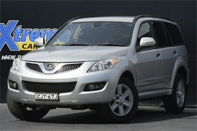 Used Great Wall X240 CC6461KY MY12 Campbelltown, 2013 Great Wall X240 CC6461KY MY12 Silver 5 Speed Manual Wagon