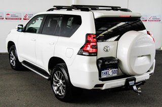 2018 Toyota Landcruiser Prado GDJ150R MY18 VX (4x4) Crystal Pearl 6 Speed Automatic Wagon.