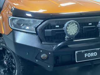 2017 Ford Ranger PX MkII Wildtrak Double Cab Pride Orange 6 Speed Sports Automatic Utility.