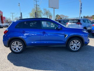 2021 Mitsubishi ASX XD MY21 LS 2WD Blue 1 Speed Constant Variable Wagon.