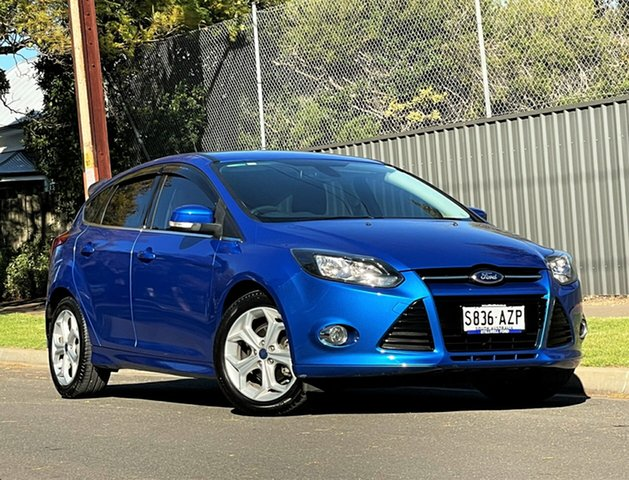 Used Ford Focus LW MkII Sport Hyde Park, 2013 Ford Focus LW MkII Sport Blue 5 Speed Manual Hatchback