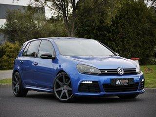 2012 Volkswagen Golf VI MY12.5 R DSG 4MOTION Blue 6 Speed Sports Automatic Dual Clutch Hatchback.