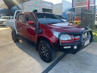 2012 Holden Colorado RG LX (4x4) Maroon 6 Speed Automatic Crew Cab Chassis.