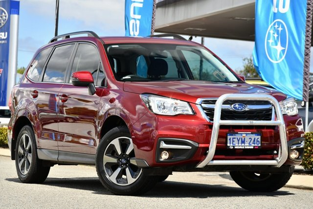 Used Subaru Forester S4 MY16 2.5i-L CVT AWD Melville, 2016 Subaru Forester S4 MY16 2.5i-L CVT AWD Venetian Red 6 Speed Constant Variable Wagon