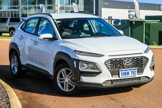 2020 Hyundai Kona OS.3 MY20 Active D-CT AWD Chalk White 7 Speed Sports Automatic Dual Clutch Wagon.