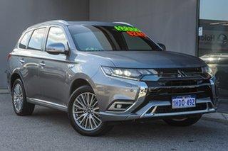 2019 Mitsubishi Outlander ZL MY20 PHEV AWD Exceed Grey 1 Speed Automatic Wagon Hybrid.