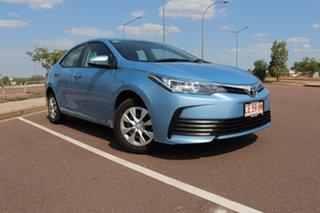 2019 Toyota Corolla ZRE172R Ascent S-CVT Blue Mist 7 Speed Automatic Sedan.