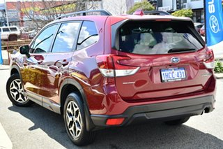 2018 Subaru Forester S5 MY19 2.5i CVT AWD Crimson Red 7 Speed Constant Variable Wagon.