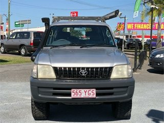 2000 Toyota Landcruiser Prado RZJ95R RV Silver 4 Speed Automatic Wagon.