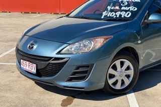 2010 Mazda 3 BL Neo Blue 5 Speed Automatic Sedan.