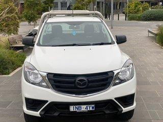 2019 Mazda BT-50 UR0YE1 XT 4x2 Hi-Rider White 6 Speed Sports Automatic Cab Chassis