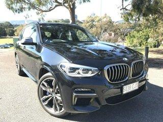 2020 BMW X3 G01 M40i Steptronic Black 8 Speed Sports Automatic Wagon.