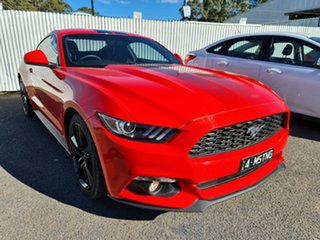 2016 Ford Mustang FM 2017MY Fastback Race Red 6 Speed Manual Fastback.