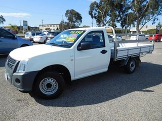 2008 Holden Rodeo RA MY08 DX 4x2 White 5 Speed Manual Cab Chassis.