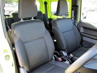 2020 Suzuki Jimny JB74 GLX Yellow 4 Speed Automatic Hardtop