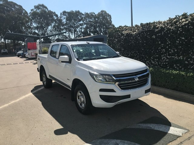 Used Holden Colorado RG MY17 LS Pickup Crew Cab Acacia Ridge, 2017 Holden Colorado RG MY17 LS Pickup Crew Cab White 6 speed Automatic Utility