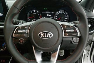 2019 Kia Cerato BD MY19 GT DCT White 7 Speed Sports Automatic Dual Clutch Hatchback