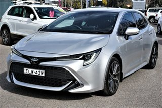 2018 Toyota Corolla Mzea12R ZR Silver 10 Speed Constant Variable Hatchback