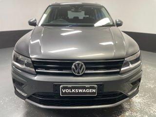 2017 Volkswagen Tiguan 5N MY17 132TSI DSG 4MOTION Comfortline Indium Grey 7 Speed.