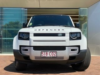 2021 Land Rover Defender L663 21MY 110 P400 AWD SE White 8 Speed Sports Automatic Wagon.