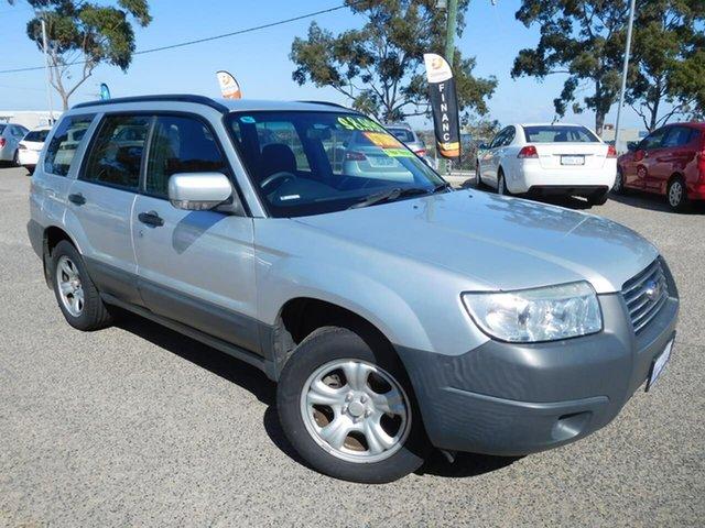 Used Subaru Forester 79V MY06 X AWD Wangara, 2006 Subaru Forester 79V MY06 X AWD Silver 4 Speed Automatic Wagon