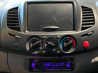 2008 Mitsubishi Triton ML MY08 GLX Double Cab Silver 5 Speed Manual Utility