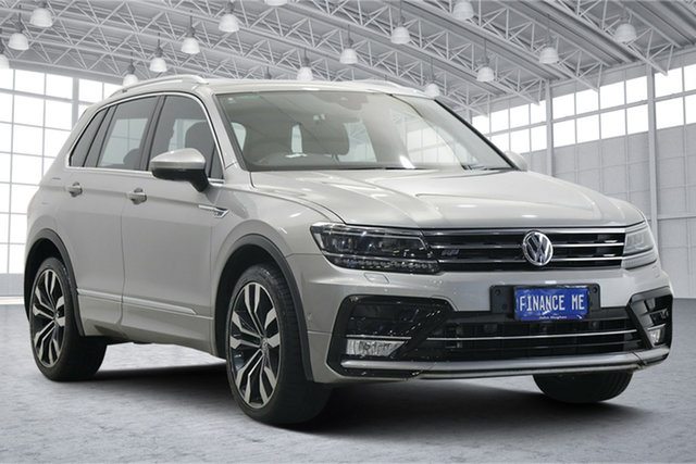 Used Volkswagen Tiguan 5N MY17 162TSI DSG 4MOTION Highline Victoria Park, 2017 Volkswagen Tiguan 5N MY17 162TSI DSG 4MOTION Highline Silver 7 Speed