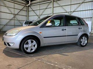 2005 Ford Fiesta WP Ghia Silver 5 Speed Manual Hatchback.