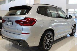 2021 BMW X3 G01 xDrive30i Steptronic M Sport Glacier Silver 8 Speed Sports Automatic Wagon.