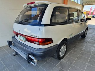 1999 Toyota Tarago TCR10R Getaway II White 5 Speed Manual Wagon