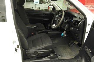 2018 Toyota Hilux GUN136R SR Extra Cab 4x2 Hi-Rider White 6 Speed Sports Automatic Utility