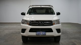 2020 Toyota Hilux GUN126R SR White 6 Speed Sports Automatic Cab Chassis