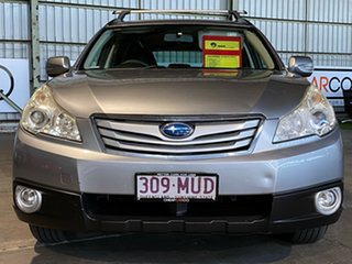 2010 Subaru Outback B5A MY10 2.5i Lineartronic AWD Silver 6 Speed Constant Variable Wagon