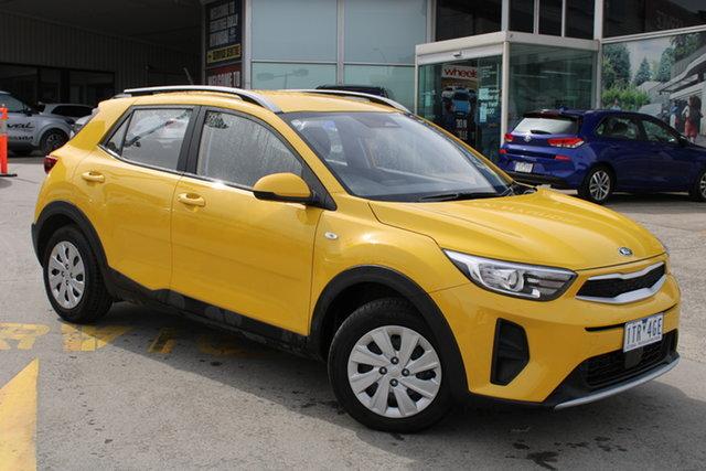Demo Kia Stonic YB MY21 S FWD Ferntree Gully, 2021 Kia Stonic YB MY21 S FWD Mighty Yellow 6 Speed Automatic Wagon