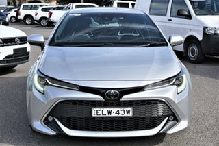 2018 Toyota Corolla Mzea12R ZR Silver 10 Speed Constant Variable Hatchback.