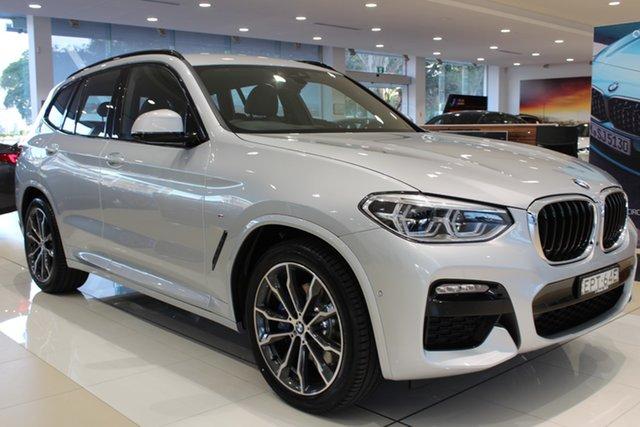 Demo BMW X3 G01 xDrive30i Steptronic M Sport Newcastle West, 2021 BMW X3 G01 xDrive30i Steptronic M Sport Glacier Silver 8 Speed Sports Automatic Wagon