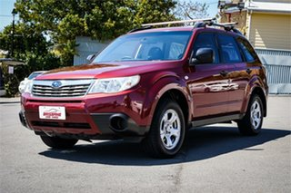 2010 Subaru Forester S3 MY10 X AWD Red 4 Speed Sports Automatic Wagon