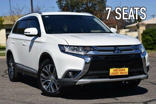 Used Mitsubishi Outlander ZL MY18.5 LS AWD Enfield, 2018 Mitsubishi Outlander ZL MY18.5 LS AWD White 6 Speed Sports Automatic Wagon