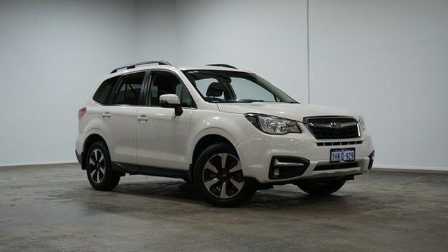 Used Subaru Forester S4 MY16 2.0D-L CVT AWD Welshpool, 2016 Subaru Forester S4 MY16 2.0D-L CVT AWD White 7 Speed Constant Variable Wagon
