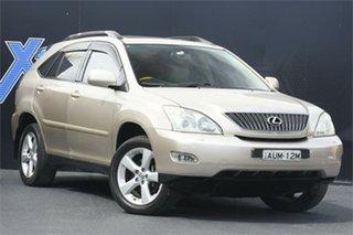 2005 Lexus RX MCU38R MY05 RX330 Sports Luxury Gold 5 Speed Sports Automatic Wagon.