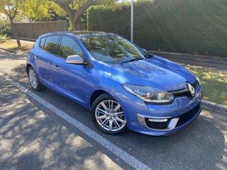 2014 Renault Megane III B95 Phase 2 GT-Line EDC Premium Blue 6 Speed Sports Automatic Dual Clutch.