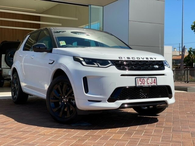 Demo Land Rover Discovery Sport L550 21MY D200 R-Dynamic SE Toowoomba, 2021 Land Rover Discovery Sport L550 21MY D200 R-Dynamic SE White 9 Speed Sports Automatic Wagon