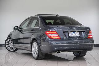 2013 Mercedes-Benz C-Class W204 MY13 C250 CDI 7G-Tronic + Avantgarde Tenorite Grey 7 Speed.