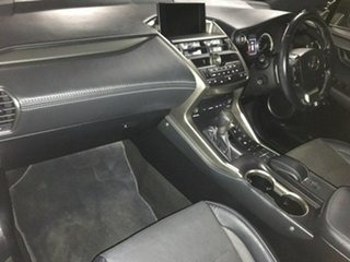 2016 Lexus NX AGZ15R NX200t AWD F Sport White 6 Speed Sports Automatic Wagon