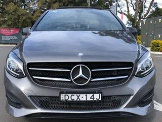 2015 Mercedes-Benz B-Class W246 B200 DCT Grey 7 Speed Sports Automatic Dual Clutch Hatchback.